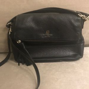 Kate Spade black shoulder or hand bag